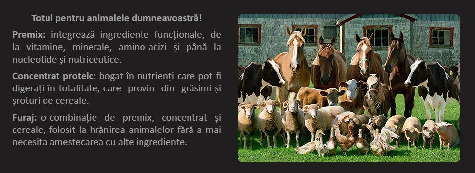 TVS Feed Premix Concentrat Furaj